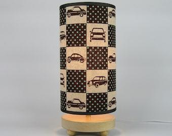 Checkered Cars  Lamp
