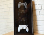 PlayStation Controller History Decor Shadow Box Framed