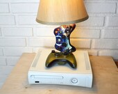 Microsoft Xbox 360 Halo Special Edition Controllers Desk Lamp Light Sculpture
