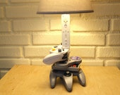Nintendo History Evolution Sculpture Desk Lamp - Nintendo Art