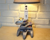 Nintendo History Evolution Sculpture Desk Lamp - Nintendo Art
