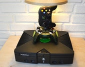 Original Xbox Desk Lamp Light Sculpture with lampshade