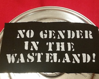 No Gender In the Wasteland! patch