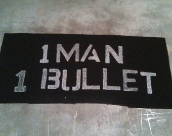 one man, one bullet patch Mad Max-inspired
