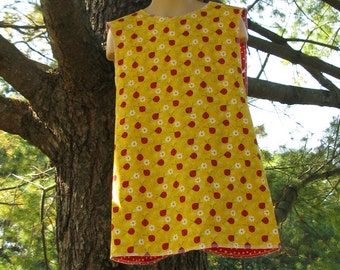 Reversible Jumper Lady Bugs with Red Poka Dots