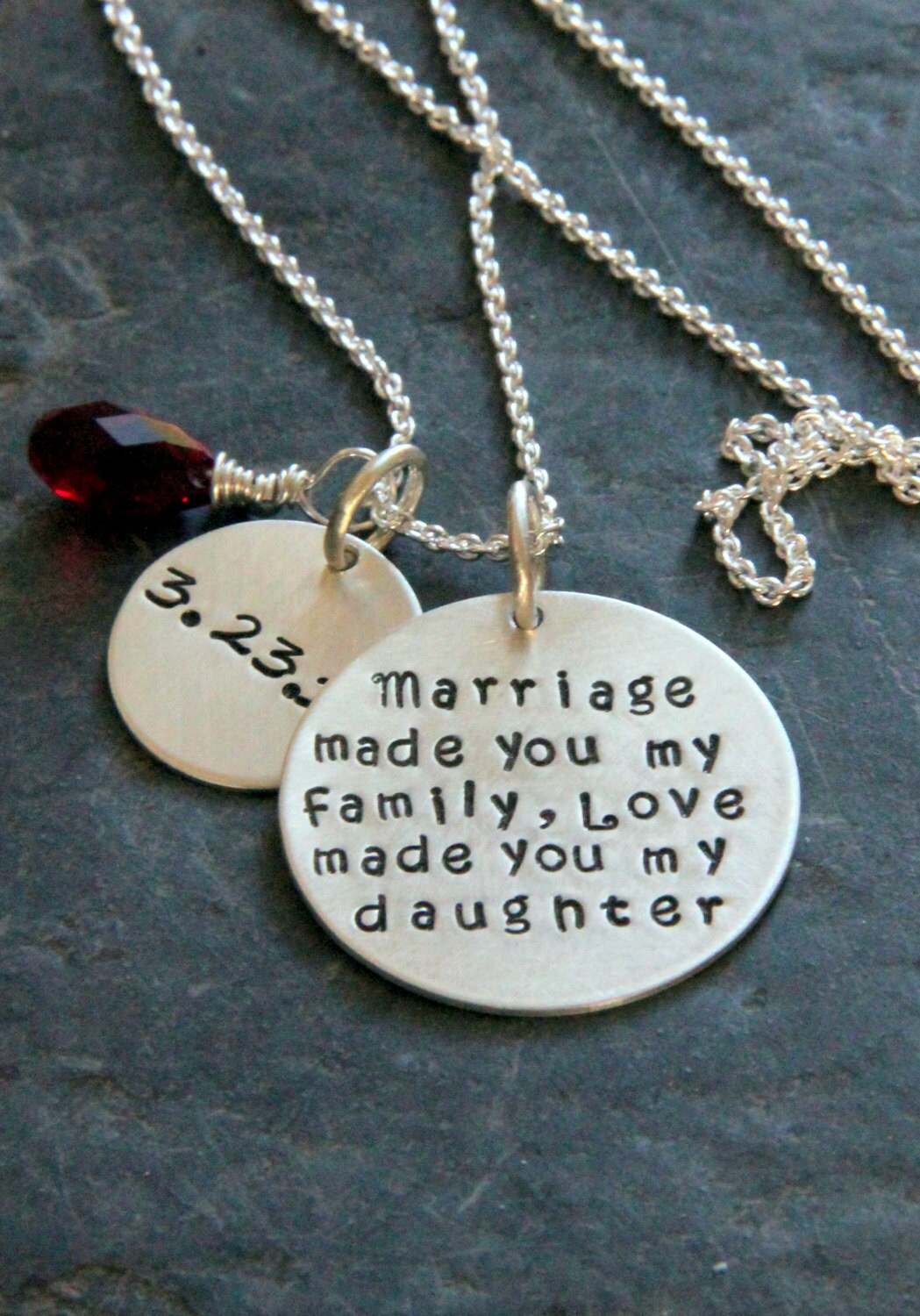 Gift For Daughter In Law Marriage Made You My Family