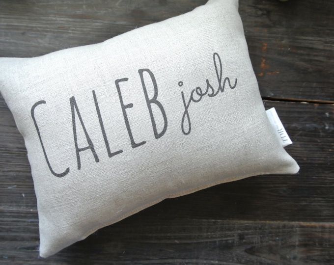 Personalized Name Pillow, Personalized Baby Pillow, Birth Announcement Pillow, Nursery Decor, Personalized pillow, Custom Pillow,
