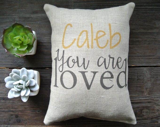 Personalized Name Pillow, Birth Announcement Pillow, Name Pillow, Baby Shower Gift, birth pillow, Nursery Pillow, Nursery Decor, Modern Baby