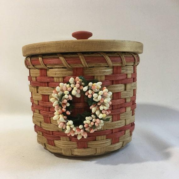 Delicieux Lidded Toilet Paper Basket Single Roll Storage | Etsy