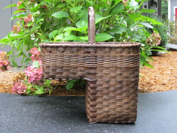 Gentil Stair Basket / Step Basket / Stair Step Basket / Handwoven | Etsy