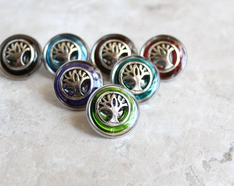 tree of life tie tack, tree lapel pin, mens jewelry, wedding jewelry, ready to ship, mens gift, nature jewelry
