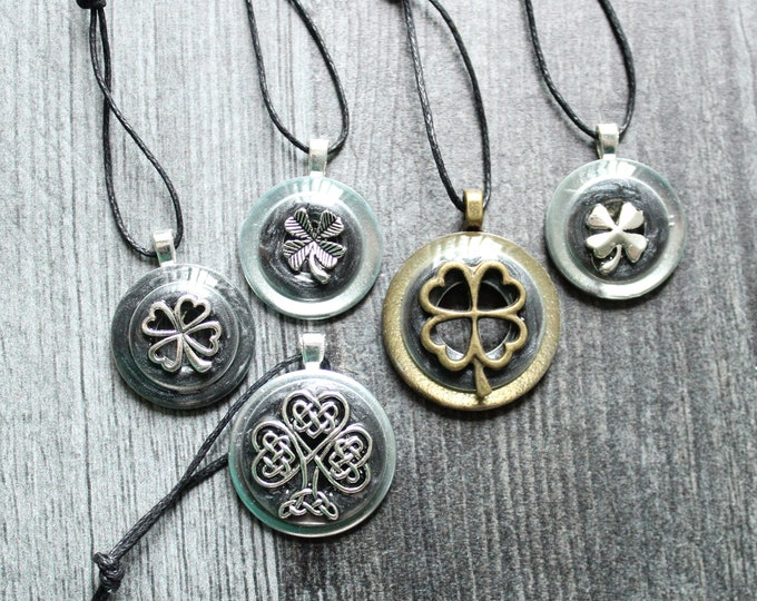 Irish ornaments, set of 5, table top tree ornaments, spring tree decorations, miniature tree, St. Patrick's Day, Celtic tree ornaments