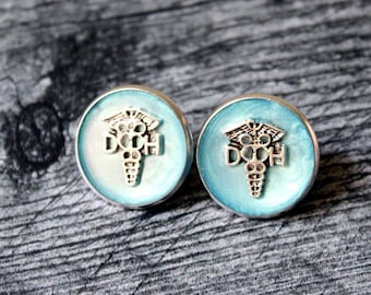 dental hygienist pin, sky blue, DH pinning ceremony, white coat ceremony, DH graduation gift