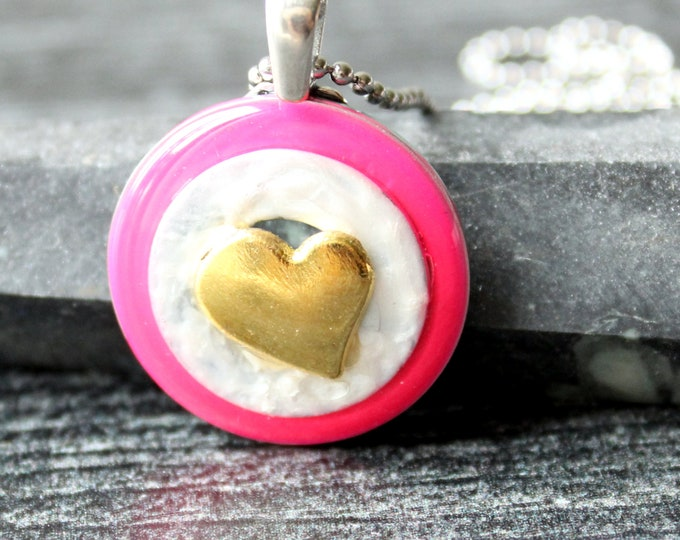 heart necklace, romantic gift, mothers day gift, heart jewelry, unique gift