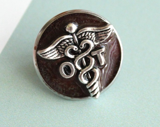 occupational therapy pin, OT pinning ceremony, white coat ceremony, occupational therapist, coffee