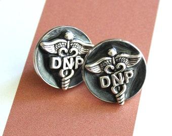 Doctor of nursing practice pin, DNP pinning ceremony, nurse graduation gift, white coat ceremony, black