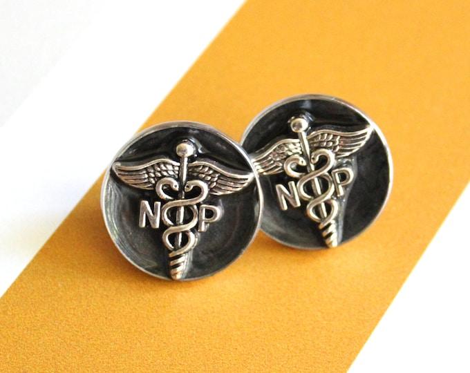 nurse practitioner pin, np pinning ceremony, nurse graduation gift, white coat ceremony, unique gift, np gift, black