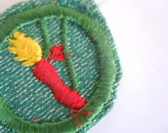 Vintage Girl Scout Dancer Badge Scout Memorabilia