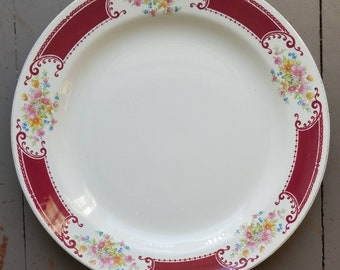 Homer Laughlin Brittany Majestic Berry Bowl 5 34 Dessert Fruit W538 Excellent