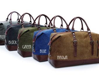 cfb9ff3b0c3b Mens Canvas Duffel Bag