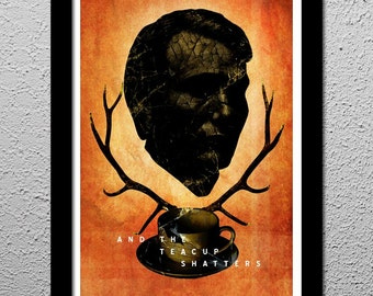 Hannibal - Stag - Will Graham - This Is My Design 13x19