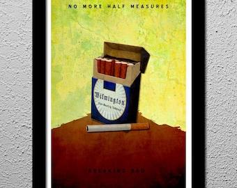 Breaking Bad No Half Measures Original Poster Walter 13x19