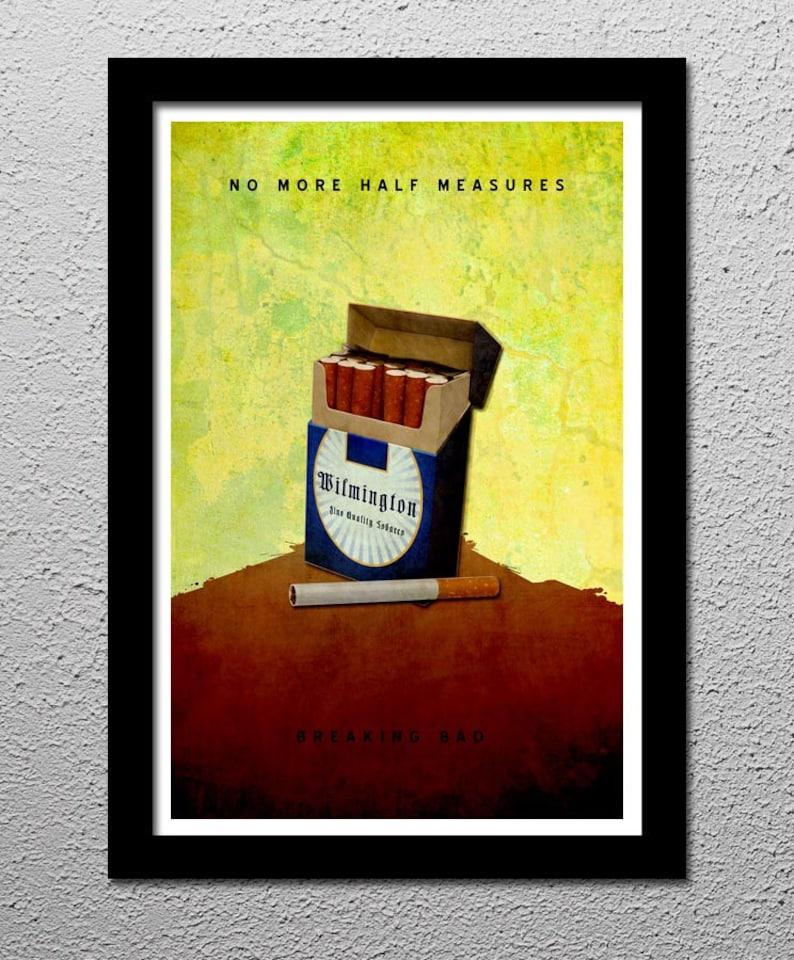 Breaking Bad No Half Measures Original Poster Walter 13x19 ...  No Half Measures Breaking Bad
