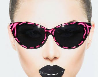 356660c4107 Black Cateye Sunglasses
