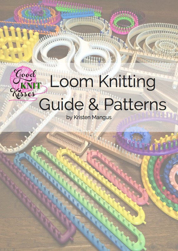 Loom Knitting Guide Patterns 2nd Edition Etsy