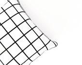 SALE Grid cushion cover