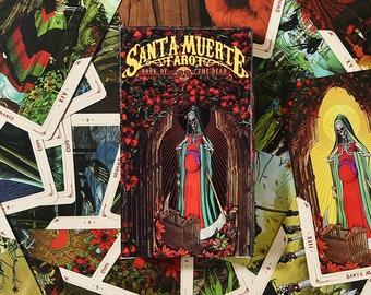 Santa Muerte Tarots - Tarot Deck - 78 Cards - Free Shipping