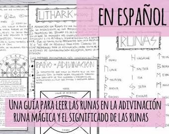Libro de las Sombras: Guía práctica de las runas - 25 runas con significado y método Uthark - 32 páginas imprimibles