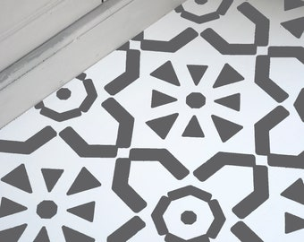 Floor Stencil Etsy