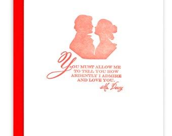 Mr. Darcy Love Greeting