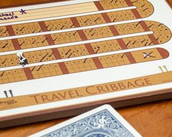 Travel Cribbage Graphic - digital download