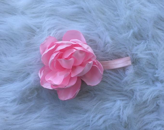 Huge light pink headband