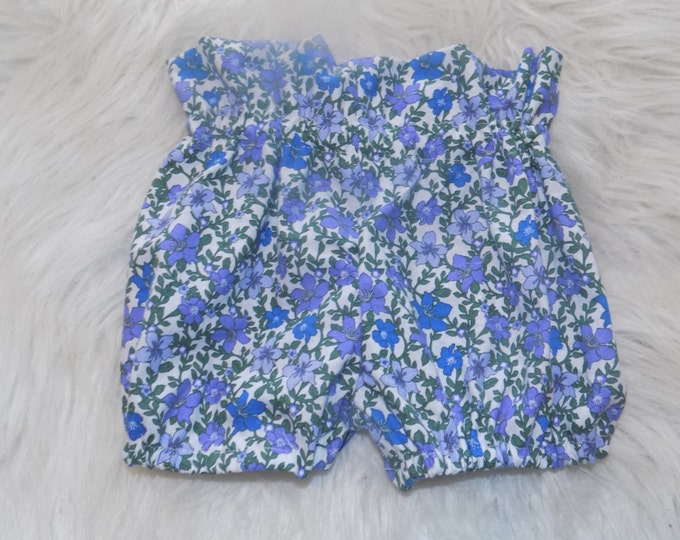 purple floral toddler shorts , easter outfit spring outfit spring shorts easter toddler