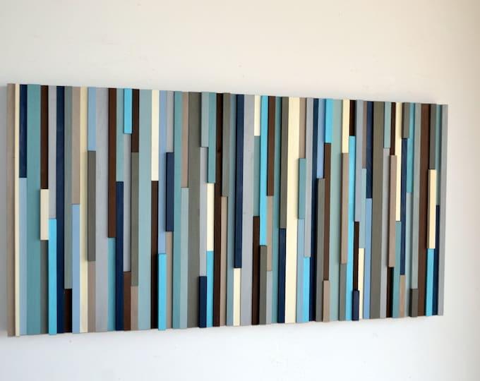 Wood Wall Art - Large Wall Art - 3D Art - 24x48