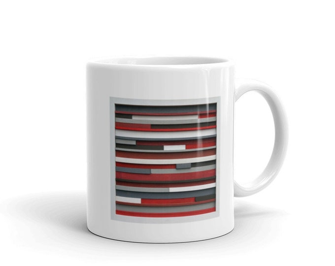 Ceramic Coffee Mug Original Artwork Bridesmaid gift mug gift Holiday gift Birthday gift Awesome gift