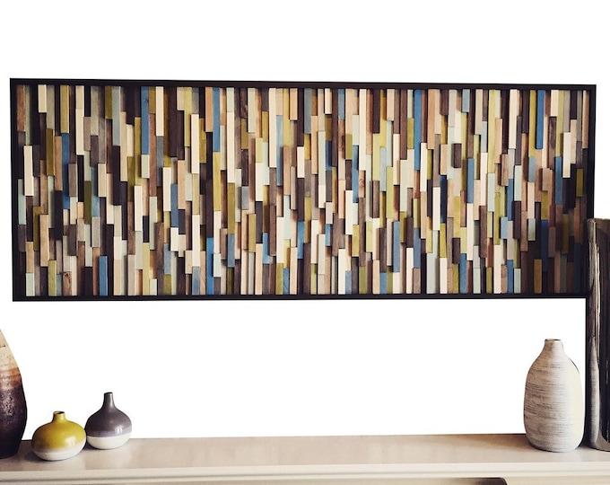 Wall Art - Wood Wall Art - Reclaimed Wood Art Sculpture - Modern Wall Art