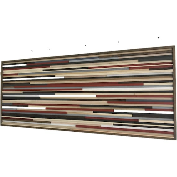 Wood Wall Art Large Living Room Decor Wall Decor Bedroom Contemporary Modern Wall Art Painting On Wood