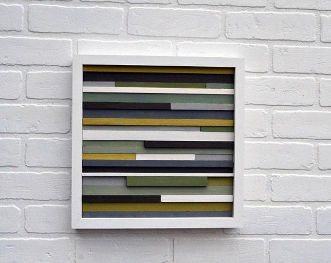 Wood Wall Art, Small Wall Art, Framed Wall Art