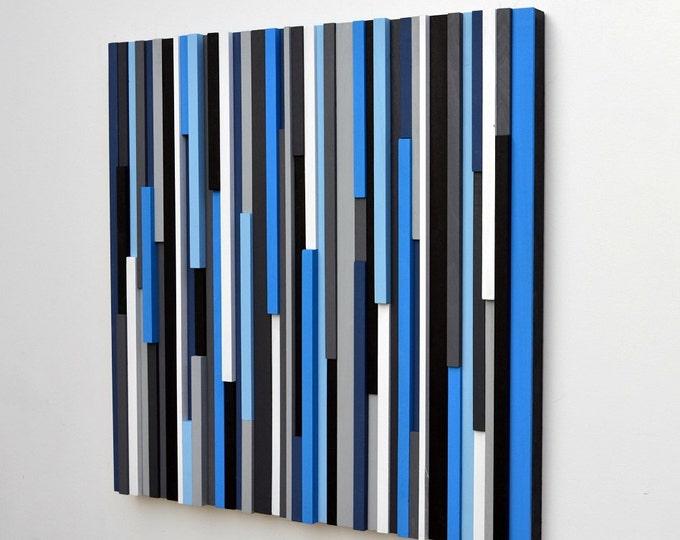Wood Wall Art - Reclaimed Wood Art - 3d Art - Wooden Wall Art - 30x30
