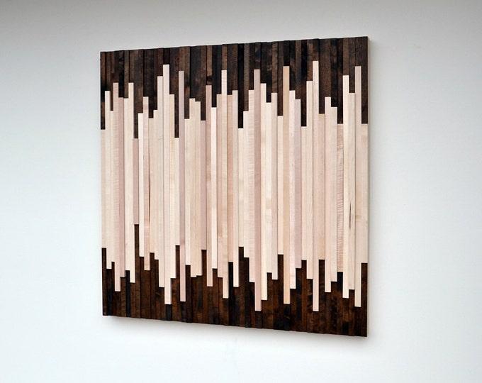 Wood Wall Art - Wood Sculpture - Wall Hanging