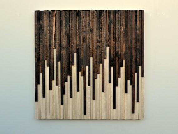 Wood Wall Art Wall Art Rustic Wood Art Wood Sculpture Wall | Etsy
