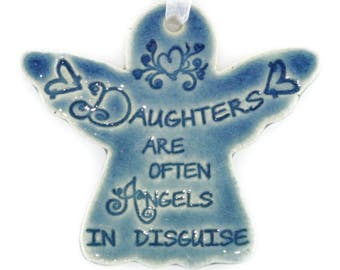 Christmas ornaments Daughter gift Christmas gift for Daughter Christmas ornament for daughter angel ornaments angel gift angle ornament
