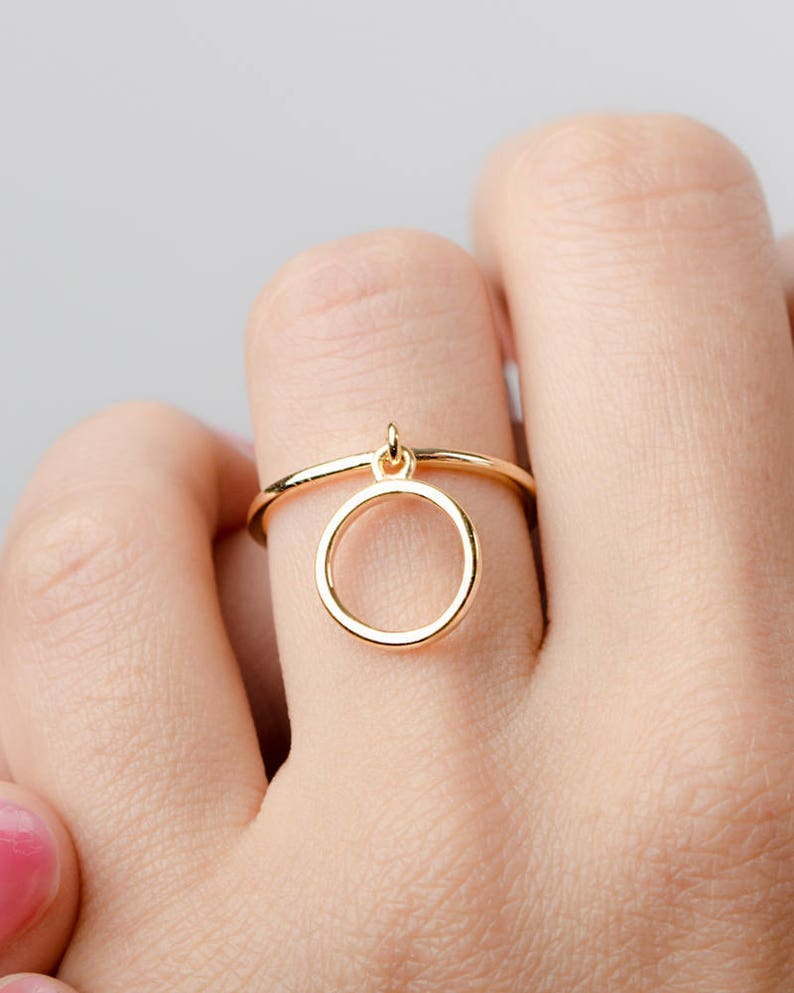 Fine Jewellery Honesty New Beautiful Vermeil Ring With Different Colour Stars Size R Jewellery & Watches
