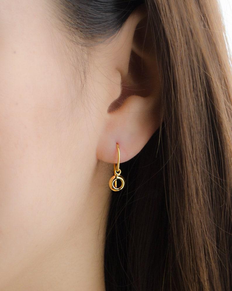 Square Earrings Simple Everyday Earrings Minimalist Jewelry Dangle Earrings Geometric Earrings Dainty Earring