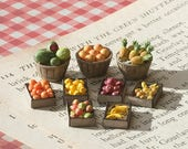 Quarter Scale Miniature Fruits Kit