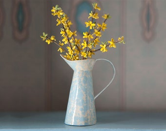 Miniature Forsythia in a French Pitcher Kit